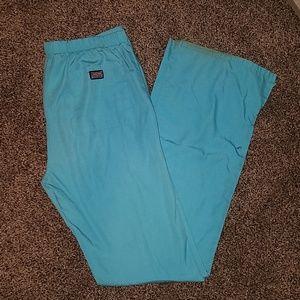 Cherokee workwear teal scrub pants size xs tall